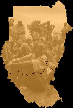 Map of Sudan & South Sudan