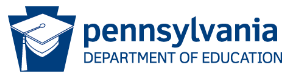 Pennsylvania Department of Education logo.