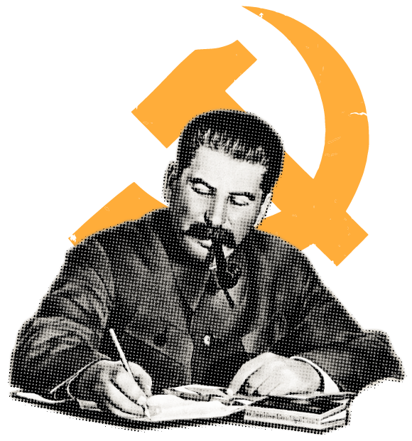 Image of Soviet Leader Joseph Stalin