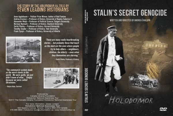 Stalin's Secret Genocide (DVD cover art)